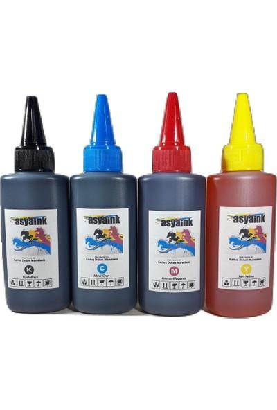 Asyaink Hp 300 301 302 Uyumlu Mürekkep 4 Renk 4X100Ml