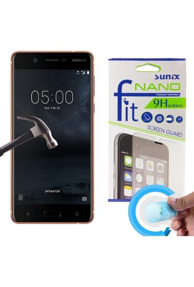 Syronix Nokia 5 Fit Nano Glass Kırılmaz Cam Ekran Koruyucu