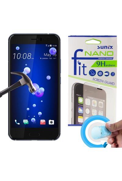 Sunix Emirtech HTC U11 Cep Telefonu Fit Nano Glass Cam Ekran Koruyucu