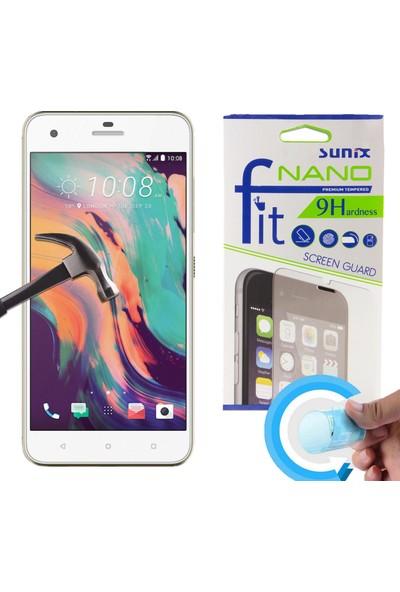 Sunix Emirtech HTC 10 Pro Cep Telefonu Fit Nano Glass Cam Ekran Koruyucu