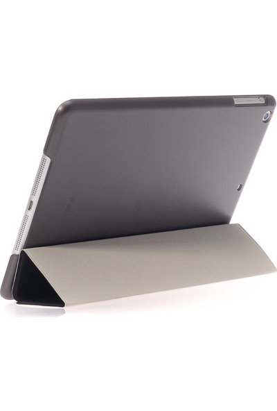 CresCent Apple iPad 6 Nesil 2018 9.7 İnç Smart Case Smart Cover Tablet Kılıfı (A1893/A1954)