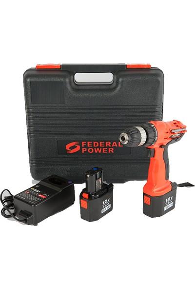 Federal Power Fp-Eal-Td12Df Akülü Vidalama