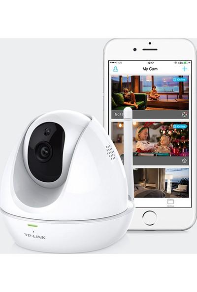 TP-Link NC450 300Mbps HD Pan/Tilt Gece Görüşlü Wi-Fi 360 Derece Hareket Sensörlü Kamera
