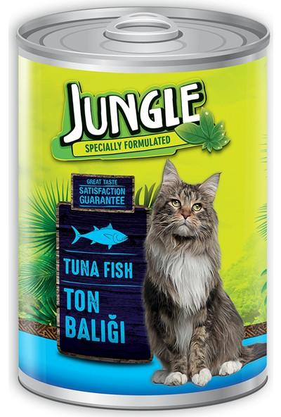 Jungle Kedi 415 gr Ton Balıklı Konserve.