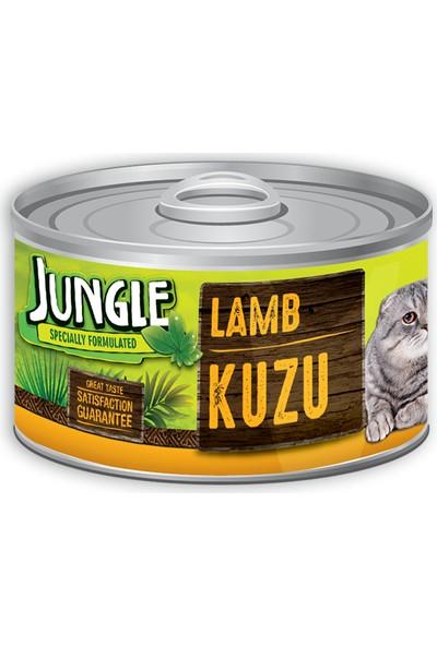 Jungle Kedi 85 Gr Kuzu Etli Yaş Ezme Mama Konserve