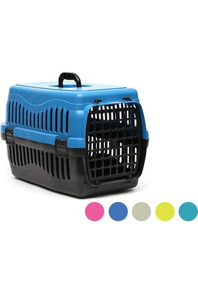 Petstyle Pati Desenli Plastik Kapılı Büyük Taşıma Çantası