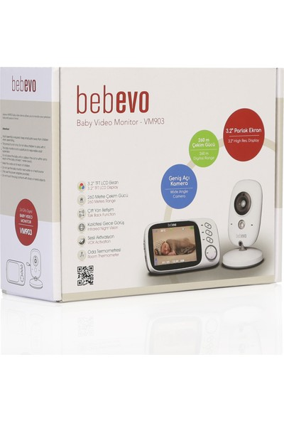 Bebevo VM903 Video Bebek Monitörü