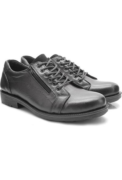 Flies 3300 Koyu Kahve Siyah Spor Klasik Erkek Ayakkabı