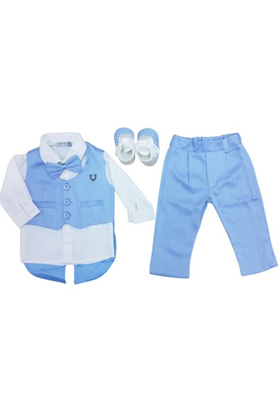 Pugi Baby 2031 Erkek Bebek Mevlüt Takımı