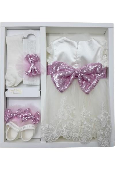 Pugi Baby 3106 Kız Bebek Mevlüt Takımı