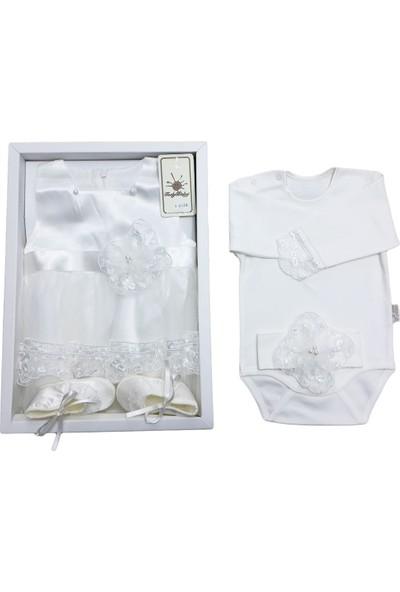 Tory Baby 4120 Güpürlü Kız Bebek Mevlüt Takımı