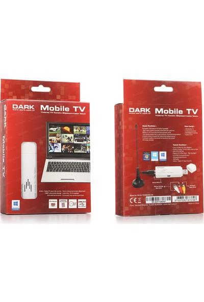 Dark USB Analog Zaman Ayarlı Kayıt Özellikli Harici Mobile FM Radyo/TV Kartı (DK-AC-TVUSBANALOG)