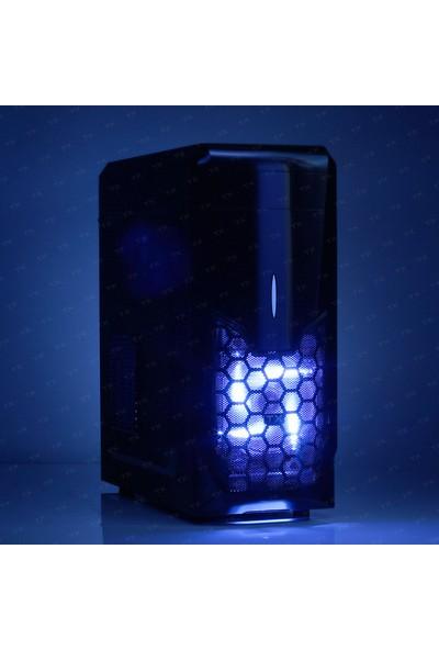 TX K8S 1xMavi LED Fan USB3.0 ATX Kasa (TXCHK8S)