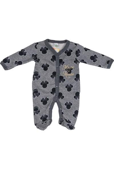 Minnie Mouse MN12070 Bebek Önden Çıtçıtlı Tulum