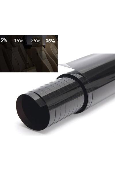 AutoEN Oto Cam Filmi %15 Koyu Siyah 75 Cm X 6 Metre Dark Black 8014213