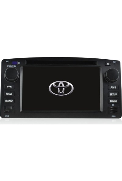 Toyota Corolla Old Android Navigasyon Kamera Bluetooth