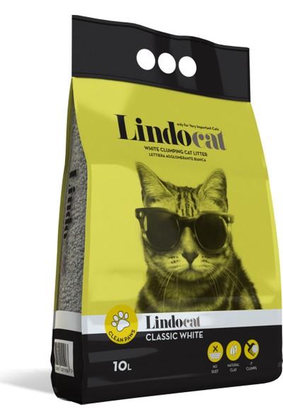 Lindo Cat Kokusuz Kalın Kedi Kumu 10 Lt