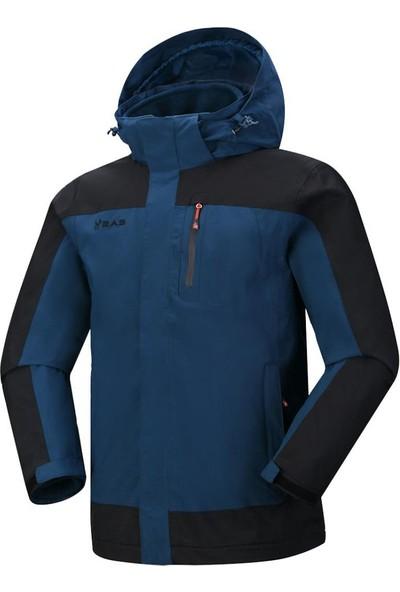 2AS Elbruz 3İn1 Erkek Mont Lacivert