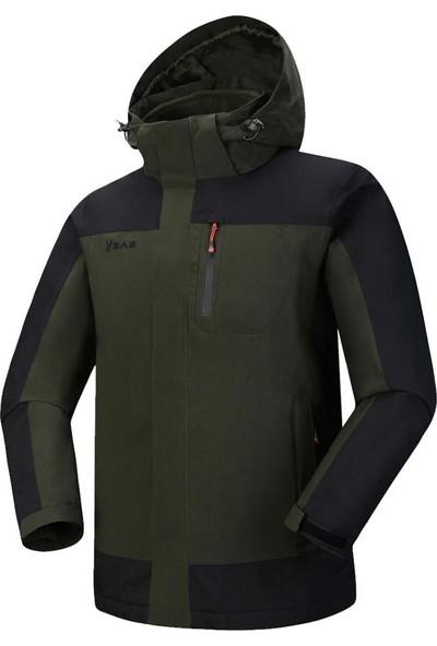 2AS Elbruz 3İn1 Erkek Mont Haki