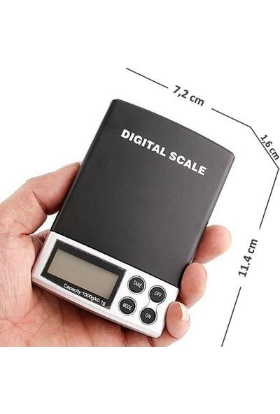 AEK-Tech Mini Hassas Terazi 1000g 0.1g