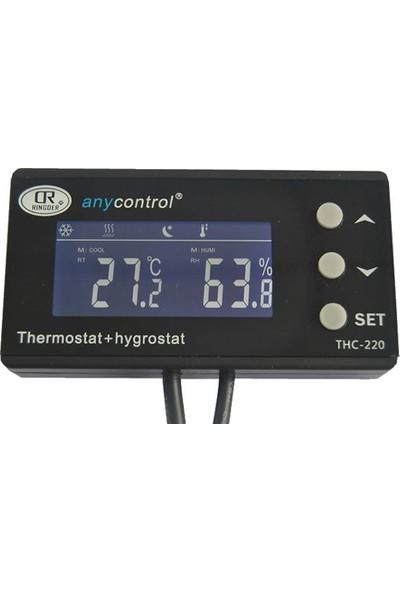 RINGDER HC-110M Nem ve Sıcaklık Termostatı