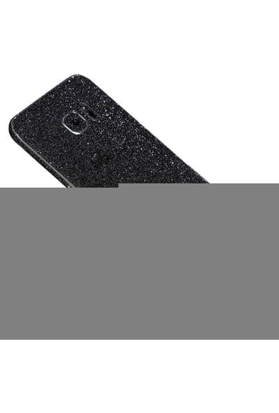 Yabidur Samsung Galaxy S7 Edge Simli Sticker - Siyah