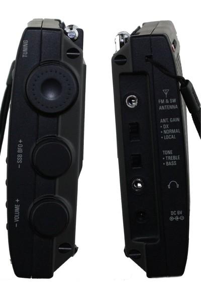 Tecsun PL-660 Dünya Radyosu (siyah)