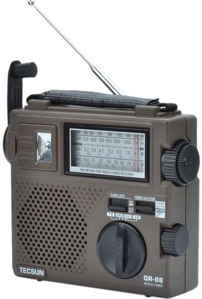 Tecsun GREEN-88 El Şarjlı Dünya Radyosu