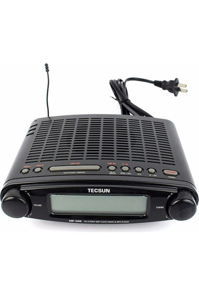 TECSUN MP300 FM Radyo MP3 Çalar Stereo