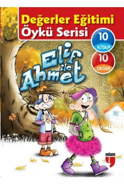 Değerler Eğitimi Öykü Serisi-Elif İle Ahmet (10 Kitaplık Set)