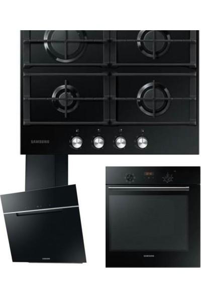Samsung Ankastre Set (NV60K5140BB - NK24M7070VB - NA64H3010AK)