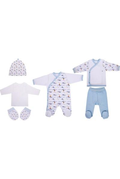 Sevi Bebe Prematüre 6Lı Erkek Bebek Zıbın Seti