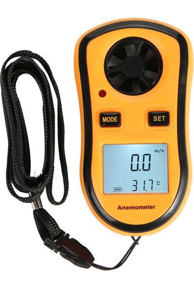 Benetech Dijital Anemometre Termometreli Hava Akım Ölçer Thr252