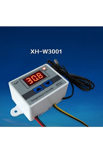 Weather Forecast Dijital Termostat 220V Akvaryum Kuluçka Termostat Xh-W3001 Thr261