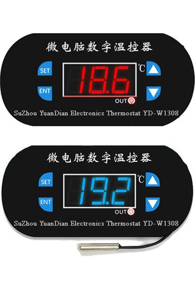 Weather Forecast Dijital Termostat 12V Akvaryum,Kuluçka,Buzdolabı Termostat Thr263