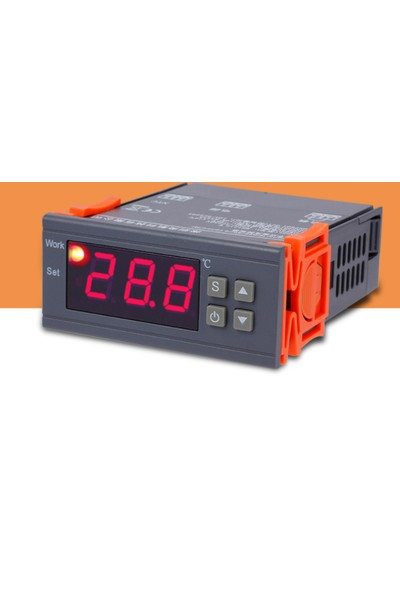 Weather Forecast 10Amper 220V 0.1 Derece Hassas Dijital Termostat- Kuluçka Thr257