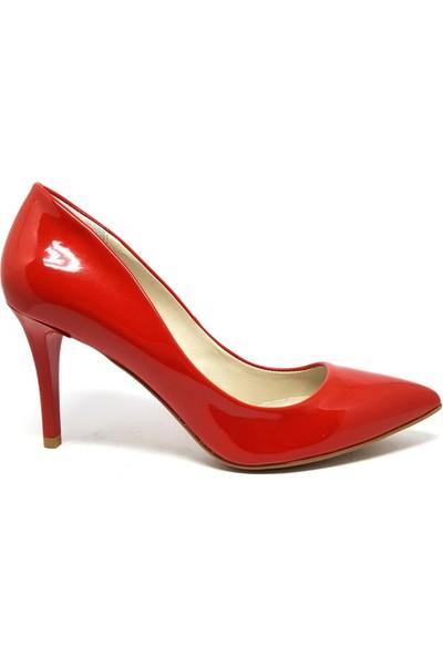 Shop And Shoes 041-8600 Kadın Ayakkabı Narçiçeği Rugan