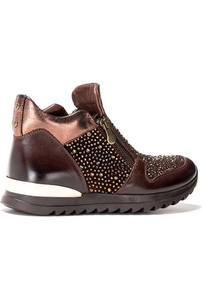 Shop And Shoes 121-2715 Kadın Bot Kahve