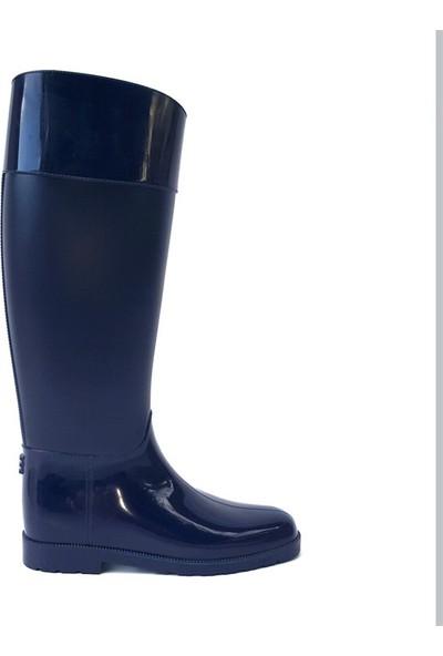 Shop And Shoes 175-503 Kadın Çizme Lacivert