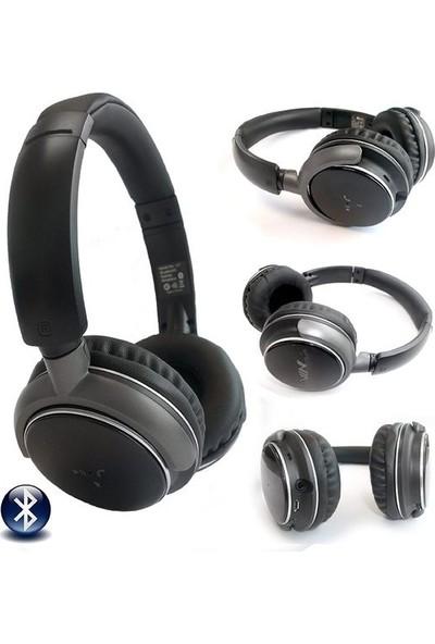Nia Q1 Extrabass Bluetooth Kulaklık Mikrofonlu Radyo Mp3 Kulaklık