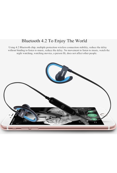 İpipoo İl98Bl Sports Kablosuz Bluetooth Kulaklık