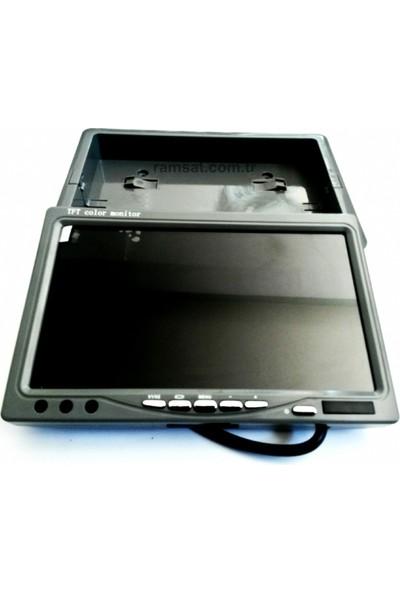Geri Yanaşma Monitor Ve kamera 4,3 inç LCD Ekran