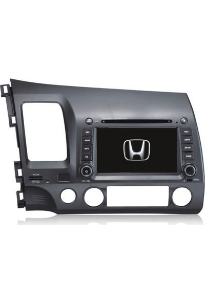 Honda Civic Android Multimedya Navigasyon Kamera