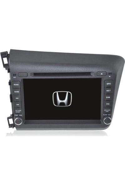 Honda Civic 7.1 Android Multimedya NAvigasyon Kamera Televizyon