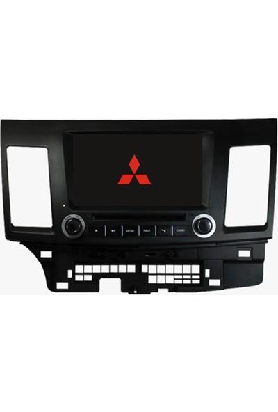 Mitsubishi Lancer Android Multimedya Navigasyon Kamera Bluetooth