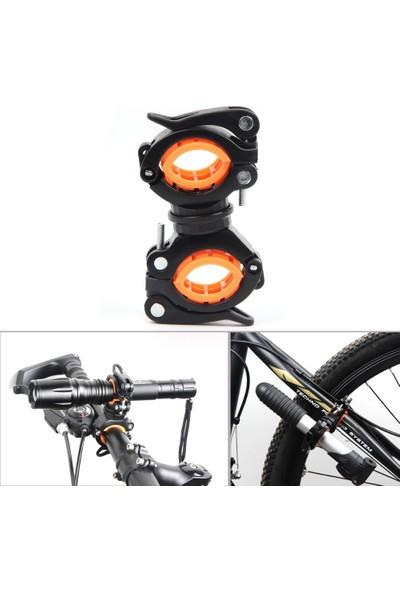 CSI Bisiklet İçin 360° Dönebilen Lux Fener Tutucu Klips 50180