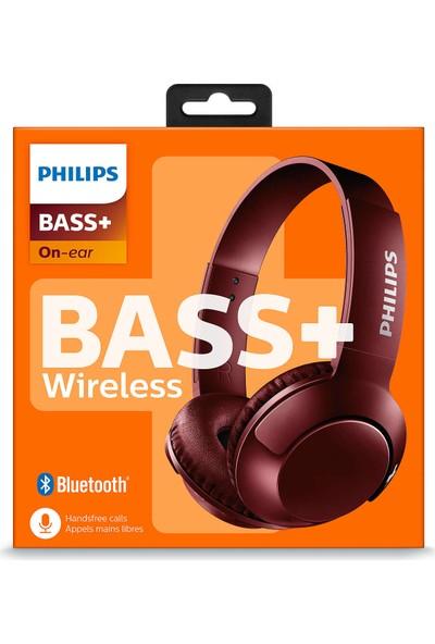 Philips Shb3075Rd/00 Bass+ Mikrofonlu Bluetooth Kulaklık