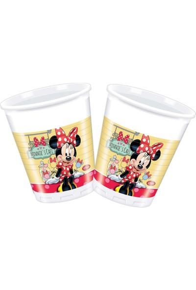 Dahice Minnie Mouse Orijinal Lisanslı Minnie Cafe 8 Adet 200 Ml Bardak