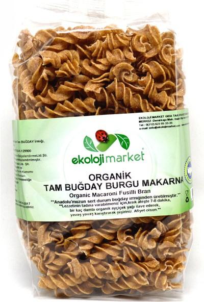 Ekoloji Market Organik Tam Buğday Burgu Makarna 300Gr