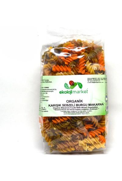 Ekoloji Market Organik Karışık Burgu Makarna 300 Gr